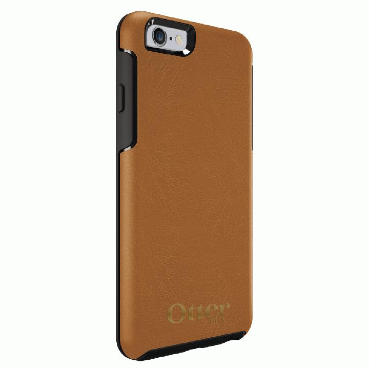 [2018新生活応援特価]OtterBox Symmetry 耐衝撃レザーケース アンティークタン iPhone 6s/6