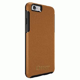 [4周年特価]OtterBox Symmetry 耐衝撃レザーケース アンティークタン iPhone 6s/6