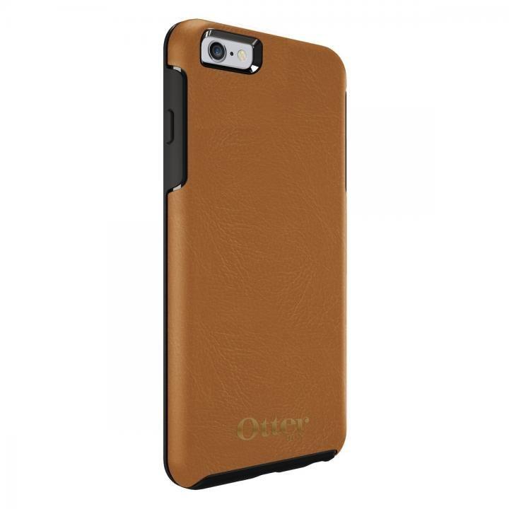 0400ebf2ec iPhone6s Plus/6 Plus ケース OtterBox Symmetry 耐衝撃レザーケース アンティークタン iPhone 6s ...