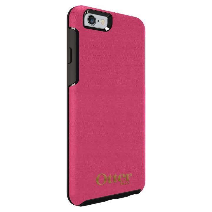 iPhone6s Plus/6 Plus ケース OtterBox Symmetry 耐衝撃レザーケース マゼンタピンク iPhone 6s/6_0