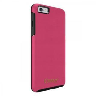 【iPhone6s/6ケース】OtterBox Symmetry 耐衝撃レザーケース マゼンタピンク iPhone 6s Plus/6 Plus