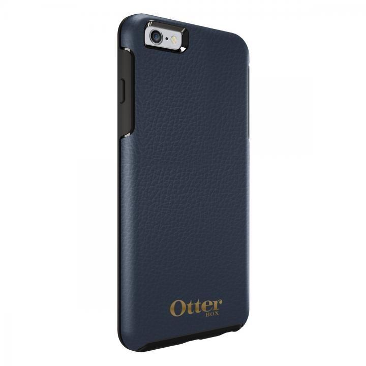 OtterBox Symmetry 耐衝撃レザーケース ネイビー iPhone 6s Plus/6 Plus
