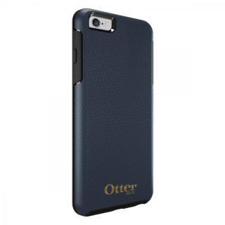 [4周年特価]OtterBox Symmetry 耐衝撃レザーケース ネイビー iPhone 6s Plus/6 Plus