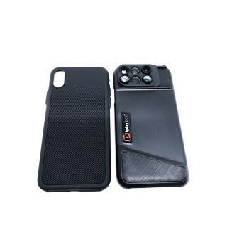 【iPhone Xケース】6レンズケース 魚眼&望遠 10倍マクロ&20倍マクロ 120度広角&2倍望遠 iPhone X