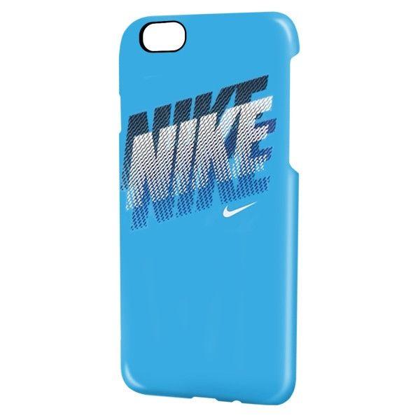 NIKE フェイド ハードケース ブルー/ホワイト iPhone 6s/6