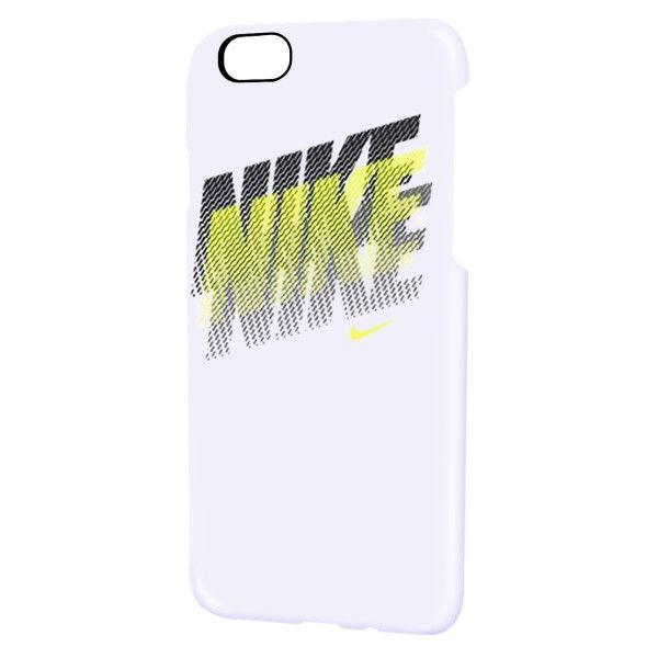 【iPhone6s/6ケース】NIKE フェイド ハードケース ホワイト/ボルト iPhone 6s/6_0
