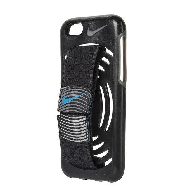 NIKE ランニングケース レボリューション アームバンドカバー ブラック iPhone 6s/6