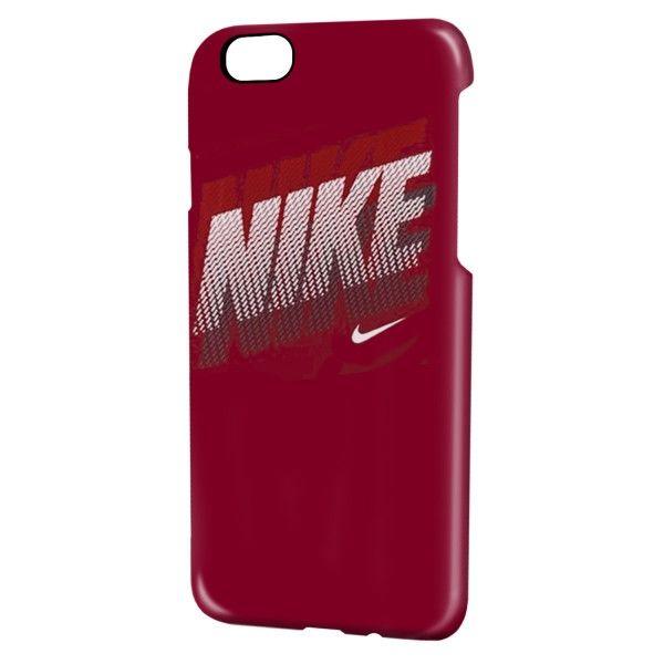 NIKE フェイド ハードケース ワイン/ホワイト iPhone 6s/6