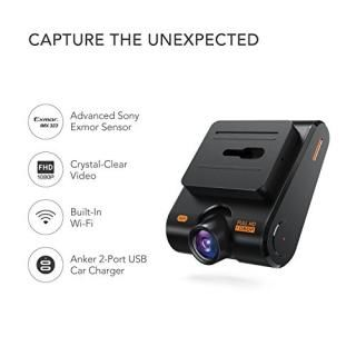 Anker Roav Dashcam C1 Car Recorder Wide-angle View 1080p Fhd