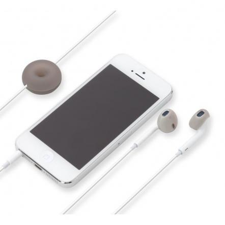 Apple EarPods専用 シリコン製イヤホンカバー ブラック
