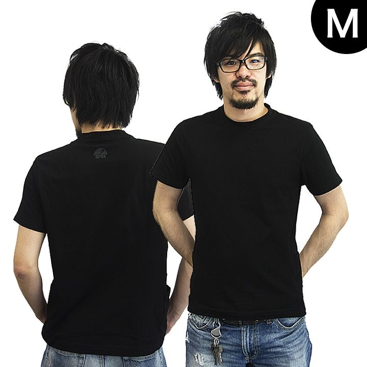 UPBK サイドポケットTシャツ ブラック Mサイズ_0
