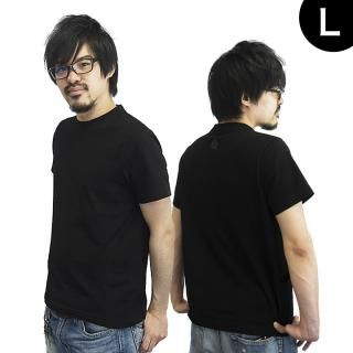 UPBK サイドポケットTシャツ ブラック Lサイズ