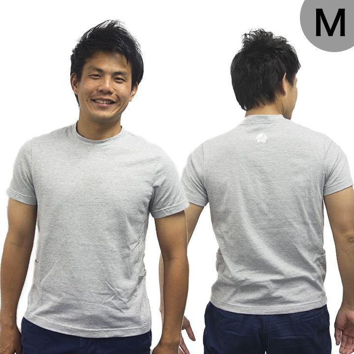 UPBK サイドポケットTシャツ グレー Mサイズ_0