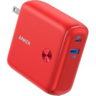 Anker PowerCore Fusion 10000 モバイルバッテリー レッド【8月上旬】