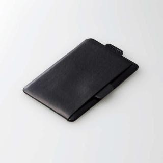 MAGKEEP 磁気吸着カードポケット ソフトレザー iPhone12シリーズ用 ブラック