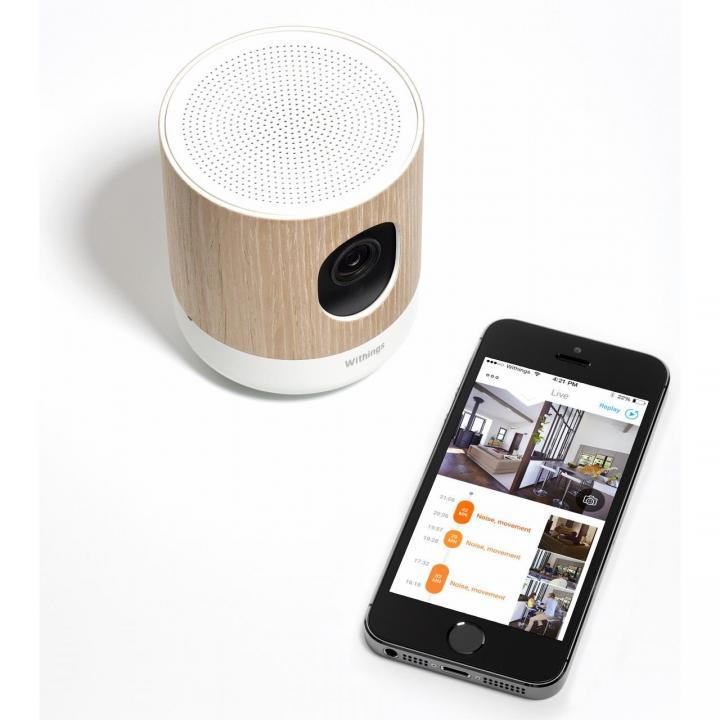 環境センサー付きHDカメラ Withings Home