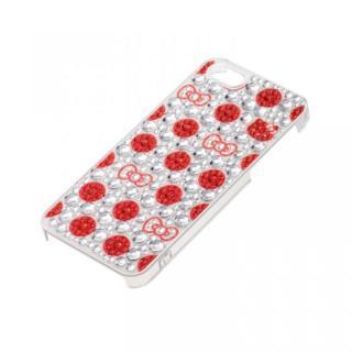 ジュエリーケース ハローキティ ドットレッド iPhone SE/5s/5ケース