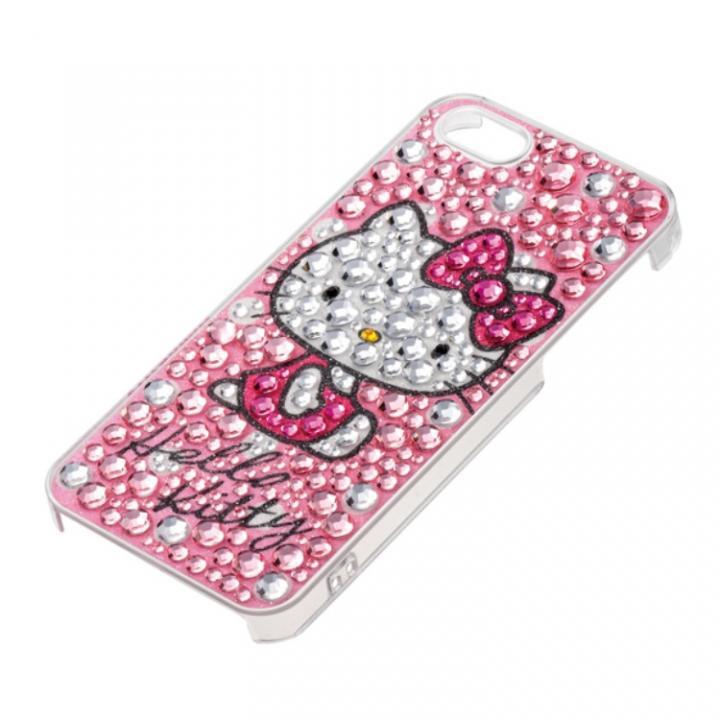 【iPhone SE/5s/5ケース】ジュエリーケース ハローキティ ドットピンク iPhone SE/5s/5ケース_0
