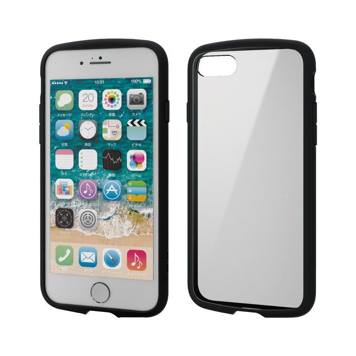 iPhone8/7/6s/6 ケース TOUGH SLIM LITE フレームカラー ブラック iPhone SE 第2世代/8/7_0