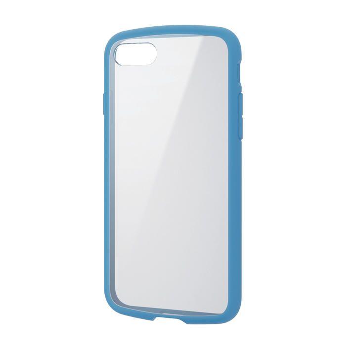 iPhone8/7/6s/6 ケース TOUGH SLIM LITE フレームカラー ブルー iPhone SE 第2世代/8/7_0