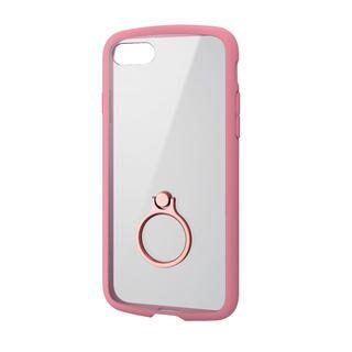 iPhone SE 第2世代 ケース TOUGH SLIM LITE フレームカラー リング付 ピンク iPhone SE 第2世代/8/7