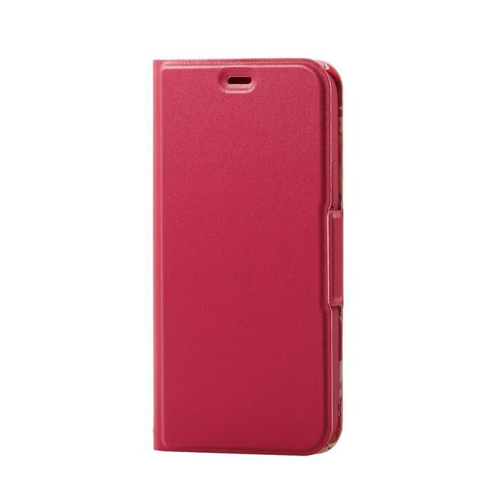iPhone8/7/6s/6 ケース ソフトレザーケース 薄型 女子向 磁石付 ディープピンク iPhone SE 第2世代/8/7_0