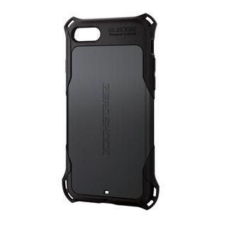 iPhone SE 第2世代 ケース ZERO SHOCK スタンダード ブラック iPhone SE 第2世代/8/7