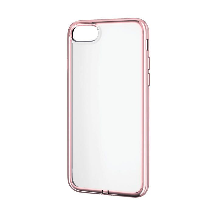 iPhone8/7/6s/6 ケース ソフトケース 極み サイドメッキ ローズゴールド iPhone SE 第2世代/8/7_0