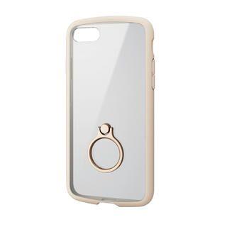 iPhone SE 第2世代 ケース TOUGH SLIM LITE フレームカラー リング付 アイボリー iPhone SE 第2世代/8/7