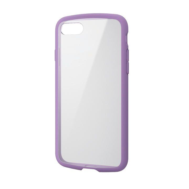 iPhone8/7/6s/6 ケース TOUGH SLIM LITE フレームカラー パープル iPhone SE 第2世代/8/7_0