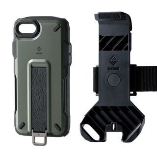 iPhone SE 第2世代 ケース NESTOUT Trekking オリーブ iPhone SE 第2世代/8/7