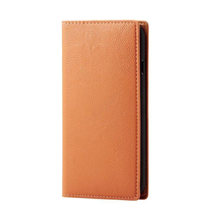 iPhone8/7/6s/6 ケース ソフトレザーケース イタリアン(Coronet) オレンジスカッシュ iPhone SE 第2世代/8/7_0
