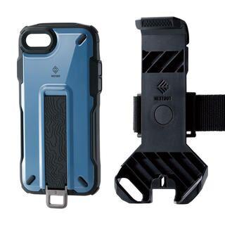 iPhone SE 第2世代 ケース NESTOUT Trekking スモーキーブルー iPhone SE 第2世代/8/7