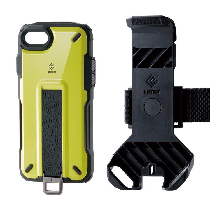 iPhone8/7/6s/6 ケース NESTOUT Trekking ライムイエロー iPhone SE 第2世代/8/7_0