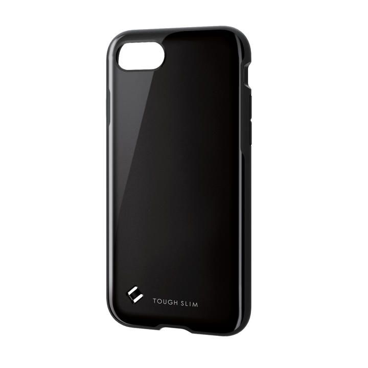 iPhone8/7/6s/6 ケース TOUGH SLIM2 ブラック iPhone SE 第2世代/8/7_0