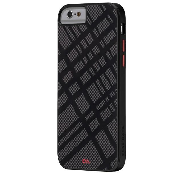 iPhone6 ケース カーボンファイバー フュージョン ケース ブラック iPhone 6_0
