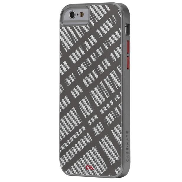 【iPhone6ケース】カーボンファイバー フュージョン ケース ガンメタル iPhone 6_0