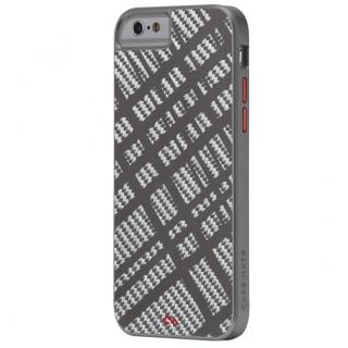 カーボンファイバー フュージョン ケース ガンメタル iPhone 6