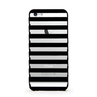 【iPhone SE/5s/5ケース】inCUTOUT 切り絵スタイルのiPhone SE/5s/5ケース STEP ブラック
