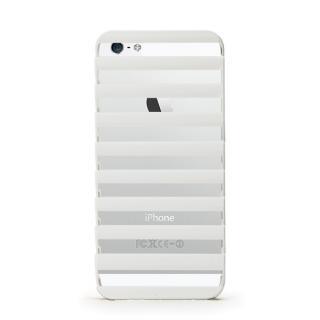 【iPhone SE/5s/5ケース】inCUTOUT 切り絵スタイルのiPhone SE/5s/5ケース STEP ホワイト