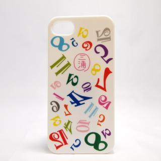 iPhone SE/5s/5 ケース フランク三浦×inCUTOUT 三浦 ホワイト iPhone SE/5s/5ケース