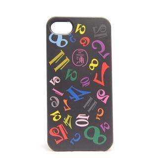 フランク三浦×inCUTOUT 三浦 ブラック iPhone SE/5s/5ケース