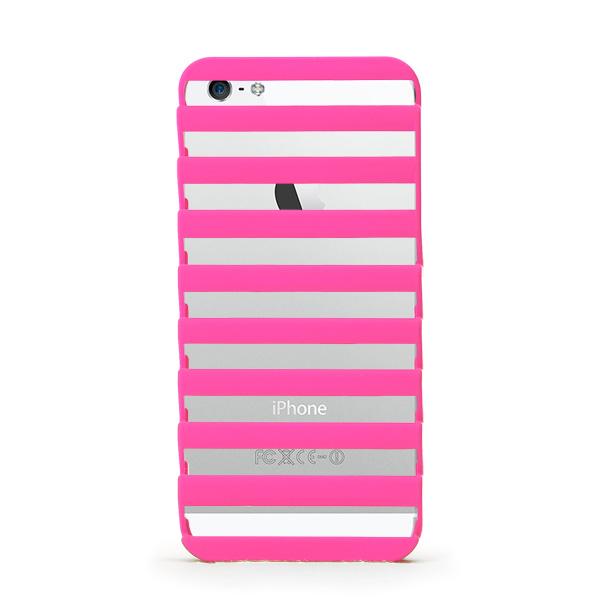inCUTOUT 切り絵スタイルのiPhone SE/5s/5ケース STEP ピンク