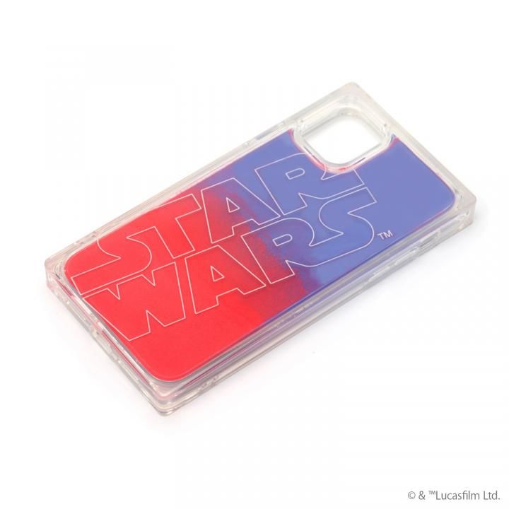 iPhone 11 ケース ネオンサンドケース STAR WARS ロゴ/ブルー&レッド iPhone 11_0