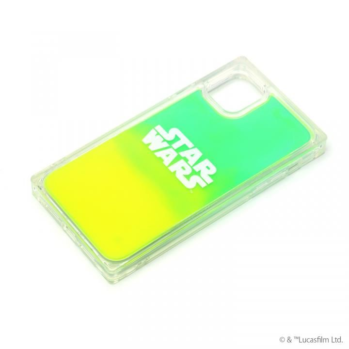 iPhone 11 ケース ネオンサンドケース STAR WARS ロゴ/グリーン&イエロー iPhone 11_0