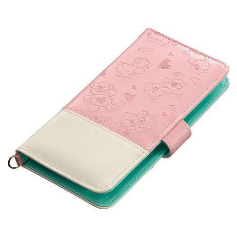 iPhone6/6 Plus ケース iDress スージーズー マルチ手帳型ケースバイカラー 多機種(iPhone/Andoroid)対応_0