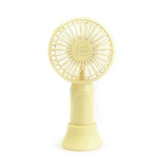 abbi Fan mini 超小型ポータブル扇風機 Yellow