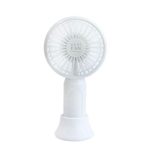 abbi Fan mini 超小型ポータブル扇風機 White_0