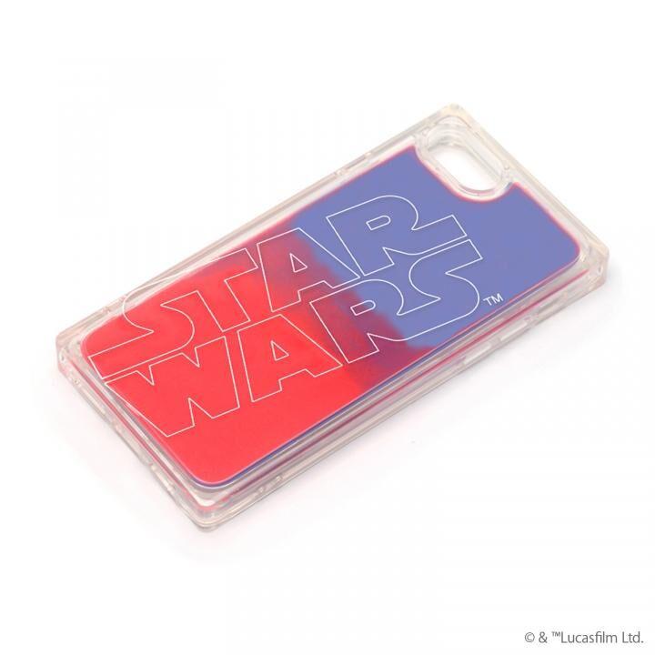 iPhone8/7 ケース ネオンサンドケース STAR WARS ロゴ/ブルー&レッド iPhone SE 第2世代/8/7_0