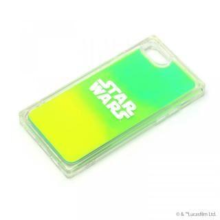 iPhone SE 第2世代 ケース ネオンサンドケース STAR WARS ロゴ/グリーン&イエロー iPhone SE 第2世代/8/7